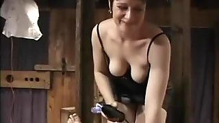 What is the Name of the Sexy Dominatrix?