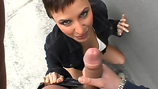 Unfathomable pecker penetration with darling