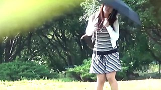 Japanese teen tinkles