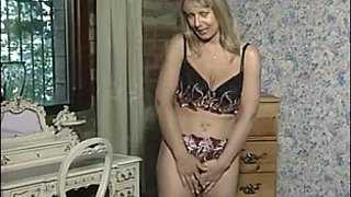 Featuring a familiar English MILF in an early vid