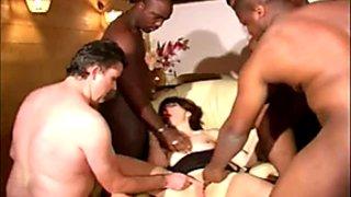 Sophie Pasteur's Black Gang Bang Party