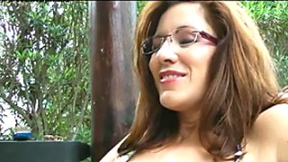 Hot Amateur MILF Fingered In Public POV