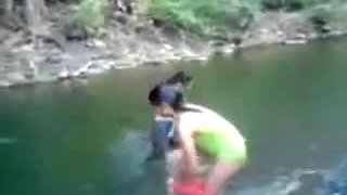 Public Full In Nature's Garb River Baths