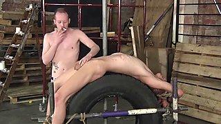 Naughty Kris Blent needs a little bit of punishment