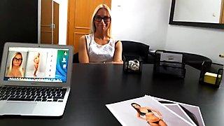 Blond Asking for Fashion Model Job