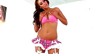 Amazing Stripper Deanna Dare POV CUM SWALLOW Cumplay Blowjob - Must See! A