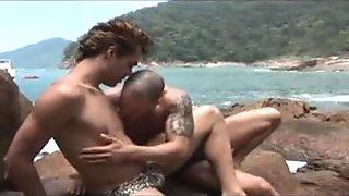 Jizzing By The Ocean - BAREBACK INC