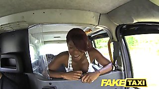 FakeTaxi - Sucking cock to get to the top