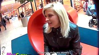 MallCuties - young amateur czech girls fucking on public