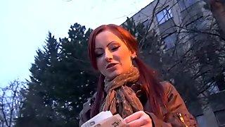 Buying beautys fur pie with cash