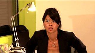 Lesbian Office Seductions #07, Scene #04