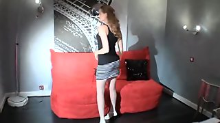 GORGEOUS IRENA IS A WAKING DREAMGIRL