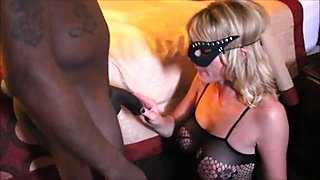 Wife Pleasures a Black Stranger