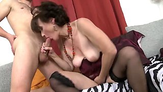 Hot milf and her younger lover 474