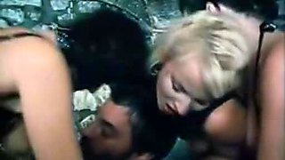 Richard Lemieuvre Uschi Karnat Catherine Greiner in classic sex scene