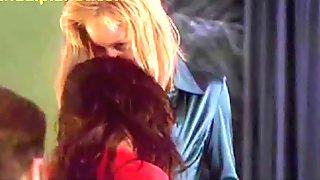 Sharon Stone Threesome Sex Scene In Basic Instinct