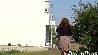 Publicly peeing japanese