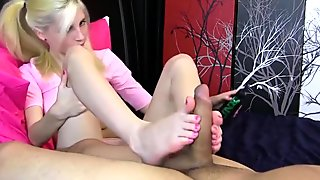 Tiny Teen with Gorgeous Feet
