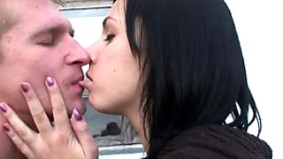 Latvian couple fucking