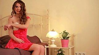 cute curly teen Malvina