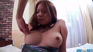 Ravishing sex with big tits Japanese hottie Hiromi