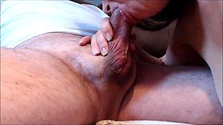 Pulsating hypospadias cock cums in mouth