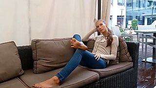 Grace foot fetish