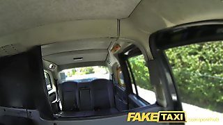 FakeTaxi Redhead gets dirty with future sugar daddy