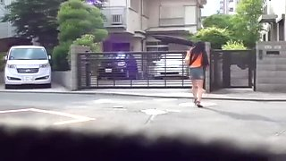 Japanese is cautious not to be seen peeing in public