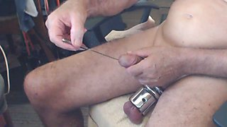 Cock Sounding & Ball Stretching