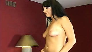 Russian Girl Learns to Spit on Dick