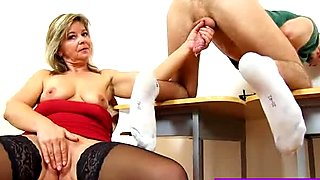 Pretty screw teacher Jane loves to see cum