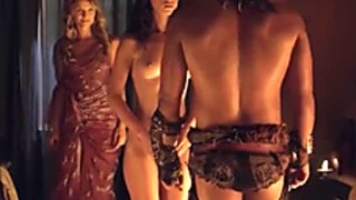 Celebrity softcore collection from the show Spartacus