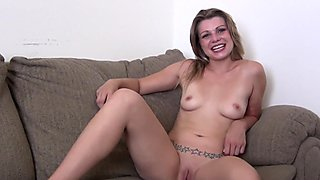hot casting couch first timer stripping down