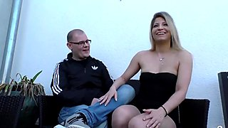 SEXTAPE GERMANY - German newbie makes her first POV sex tape