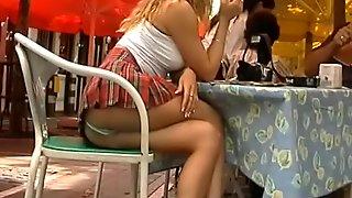 Shots up the skirt