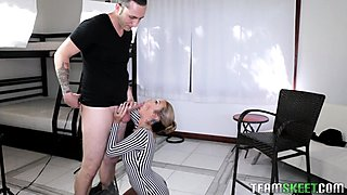 Kat Dior takes a full load in her mouth