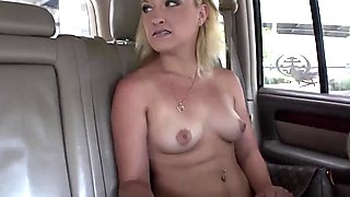 Saucy blonde spreads her dripping wet cunt