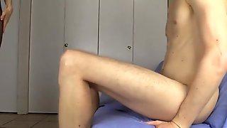 Lelu Love-Cuckolding Blowjob Cum In Pantyhose