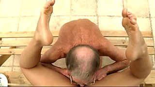 Old cock for Nikky Thorne