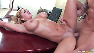 Shyla got banged in the office