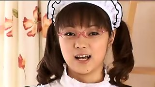 Ann Takahashi - Breasty Chunky Bushy Lovely Jap Maid