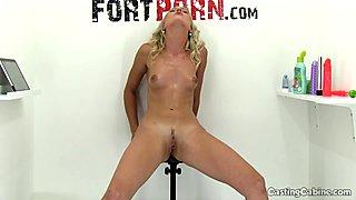 Masturbation Compilation on Casting