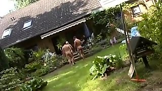 Skanky Petite Bitch Flirts And Bones Two Older German