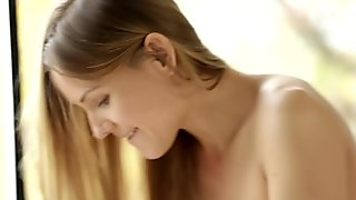Morning routine turns into a passionate sex for Sabrina Moore.