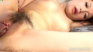 Japanese submissive but slutty Nazuna Otoi sucks several hot small dicks for cum