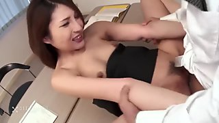 Rara Mizuki Offers Holes For Office Job (Uncensored JAV)