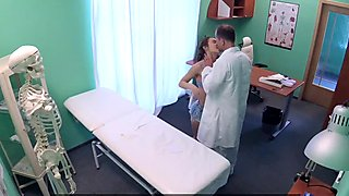 FakeHospital Doctor performs sexual acrobatics with Russian babe